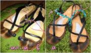 Upgrade: Hippie-Sandale mit Perlenriemchen (DIY)