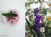 Erbeer-Lavendel-Milch