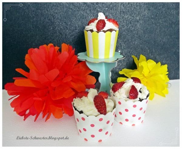 Erdbeermuffins