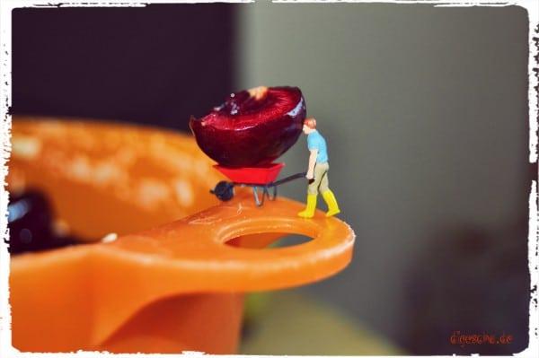 Sommer + Kirschen = Kirschenplotzer