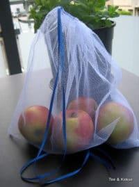Tüll statt Müll - Beutel für Obst und Gemüse
