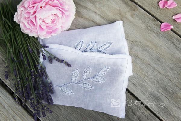 Ganz altmodisch – aber in neuer Optik – Lavendelsäckchen