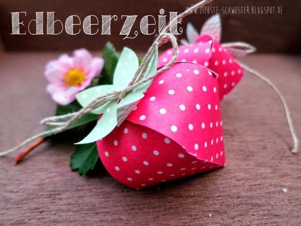 DIY Erdbeeren zum selber machen
