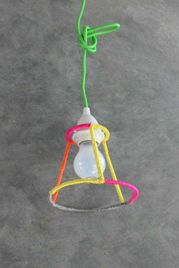 DIY – Umhäkelte Lampenschirme