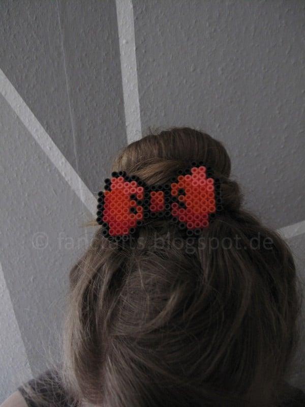 Pixel-Haarschleife