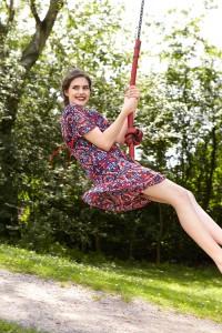 Sommerkleid-Tunika: Sommer in Seide