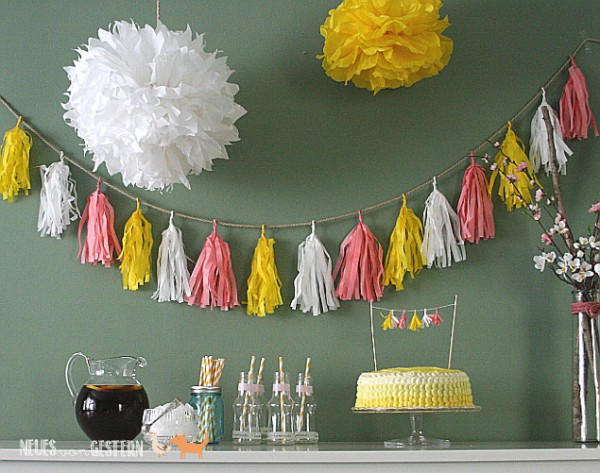 DIY Tassel-Girlande