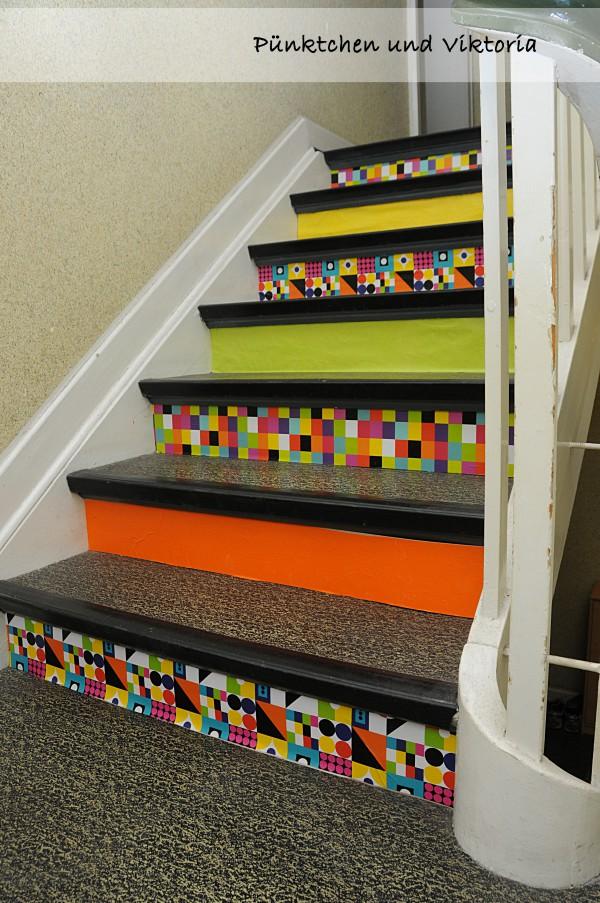DIY - Treppe aufhübschen