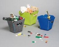 Der Filzcontainer: Damit kannst du einpacken!