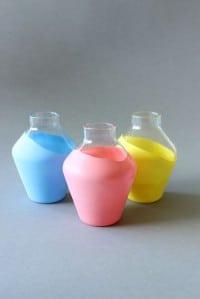 "DIY - Vasen ""bemalen"" ohne Farbe"