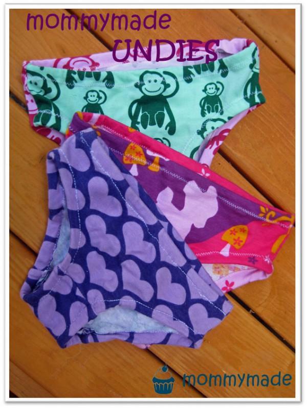 Mädchen-Unterhosen mit Zwickel - HANDMADE Kultur