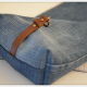 Upcycling-Projekt: Mini-Tasche aus alter Jeans!