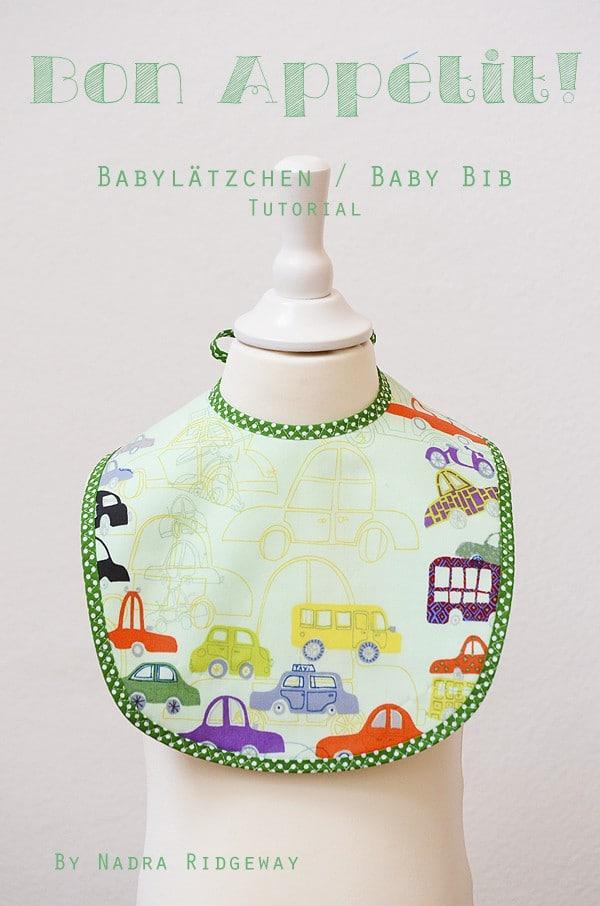 DIY Baby Lätzchen - HANDMADE Kultur