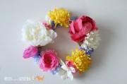 DIY Blumenkranz für Festivals