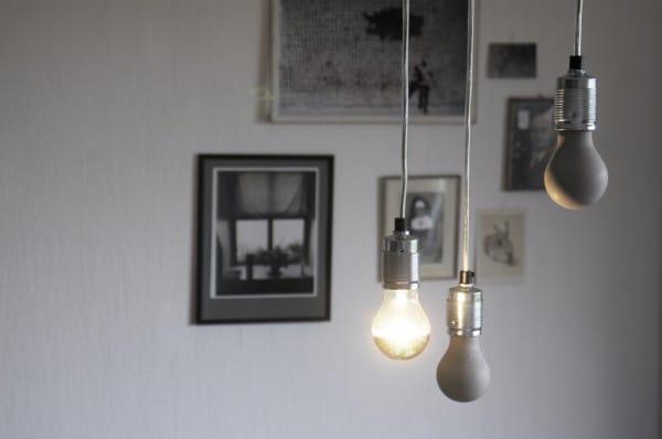 diy lampen handmade kultur. Black Bedroom Furniture Sets. Home Design Ideas