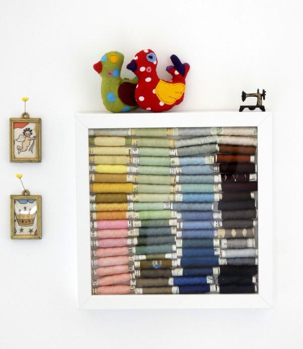 diy garnrollen aufbewahrung deluxe handmade kultur. Black Bedroom Furniture Sets. Home Design Ideas