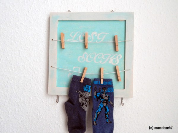 """DIY-Tutorial Schluss mit """"Lost Socks"""""""