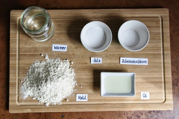 Knete herstellen mit Zitronensäure ohne Alaun