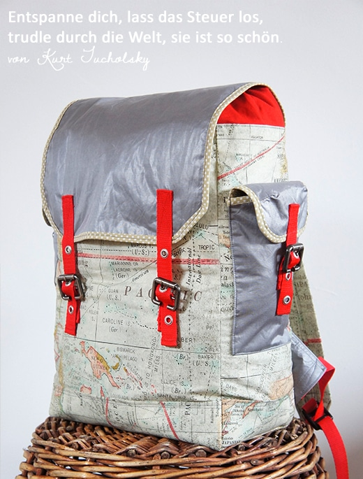 Mein Rucksack, der Kosmopolit