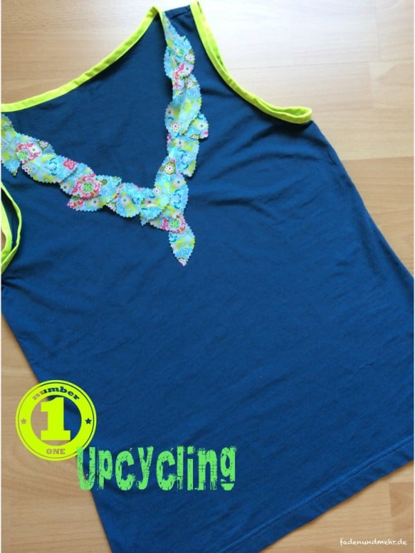Upcycling: Aus T-Shirt wird Top!