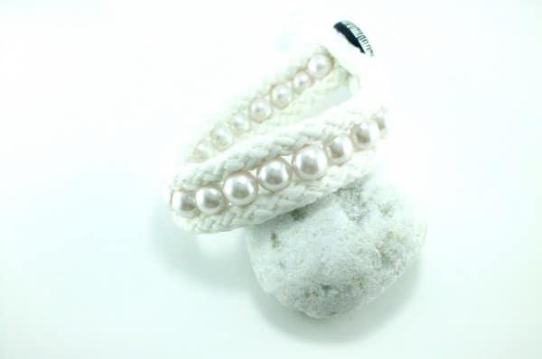 Kordel-Perlenarmband