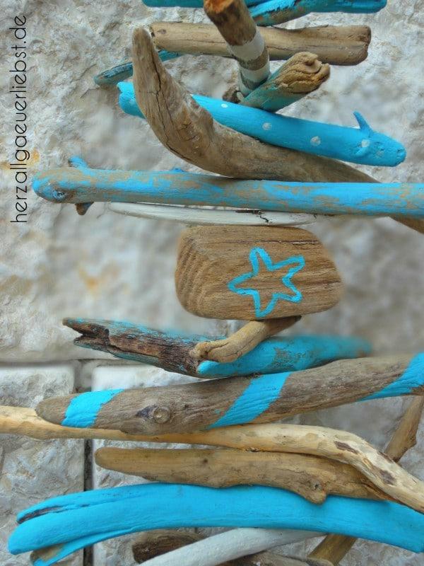 Schwemmholz Mobile Handmade Kultur