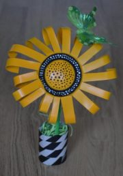 Upcycling Sonnenblume