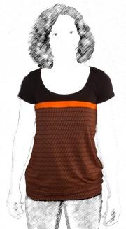 Streifen-T-Shirt