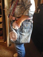DIY - Jeans - Taschen mal einfacher gemacht