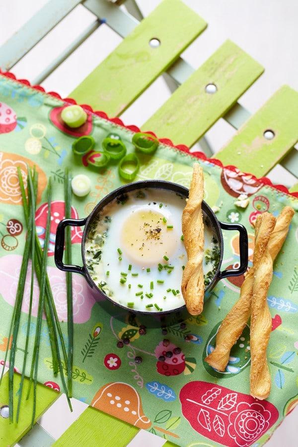 Œuf en Cocotte (Ei aus dem Topf)