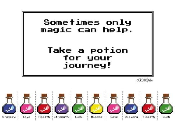 Freebie: Take a Potion