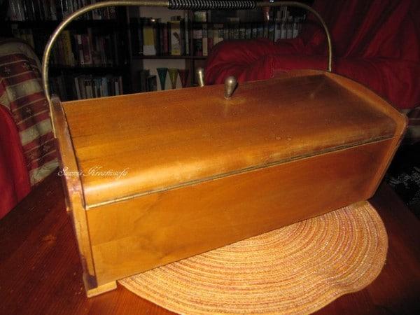Vintage Nähköffer