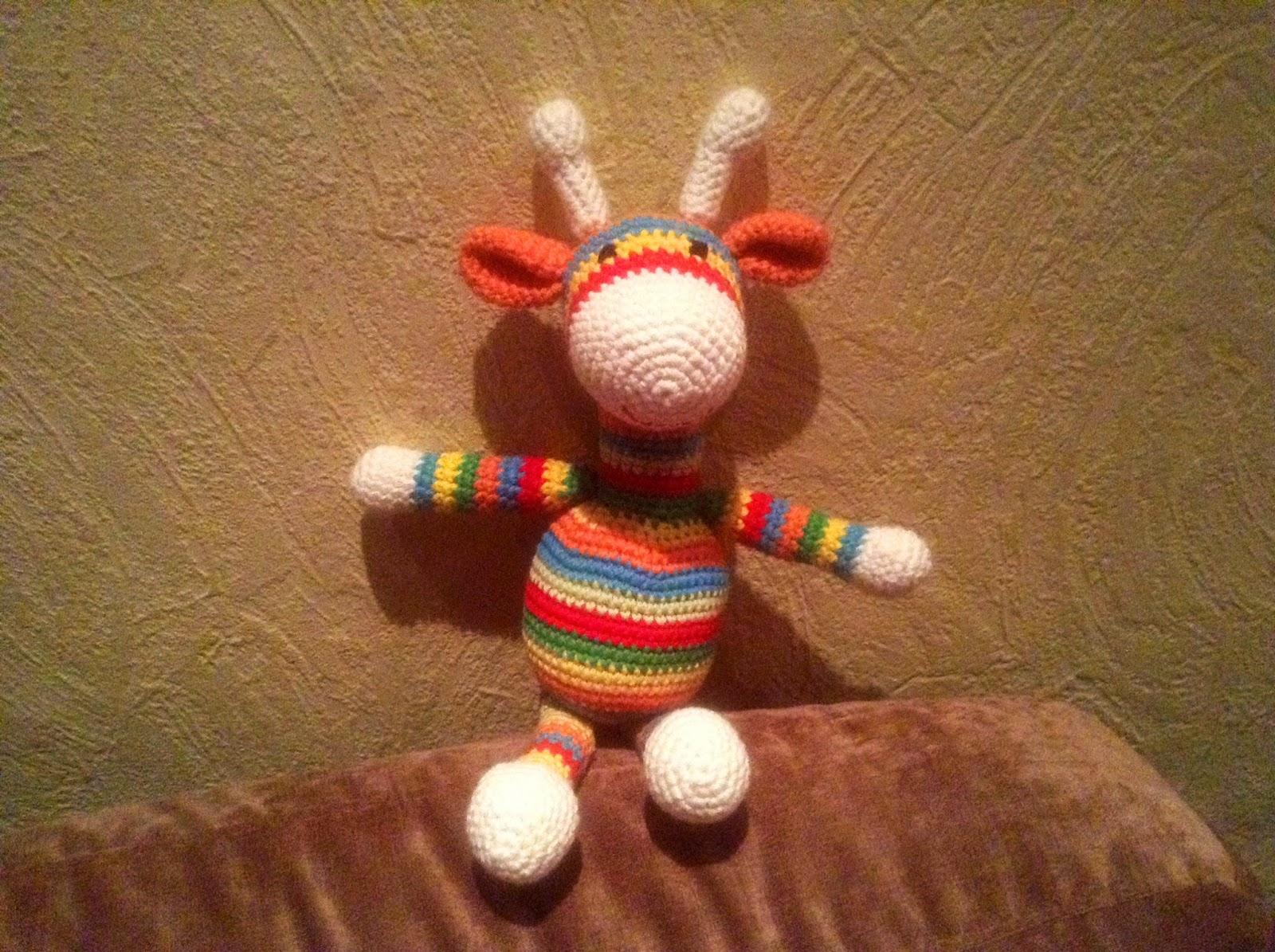 Amigurumi Giraffe Gertrud Handmade Kultur