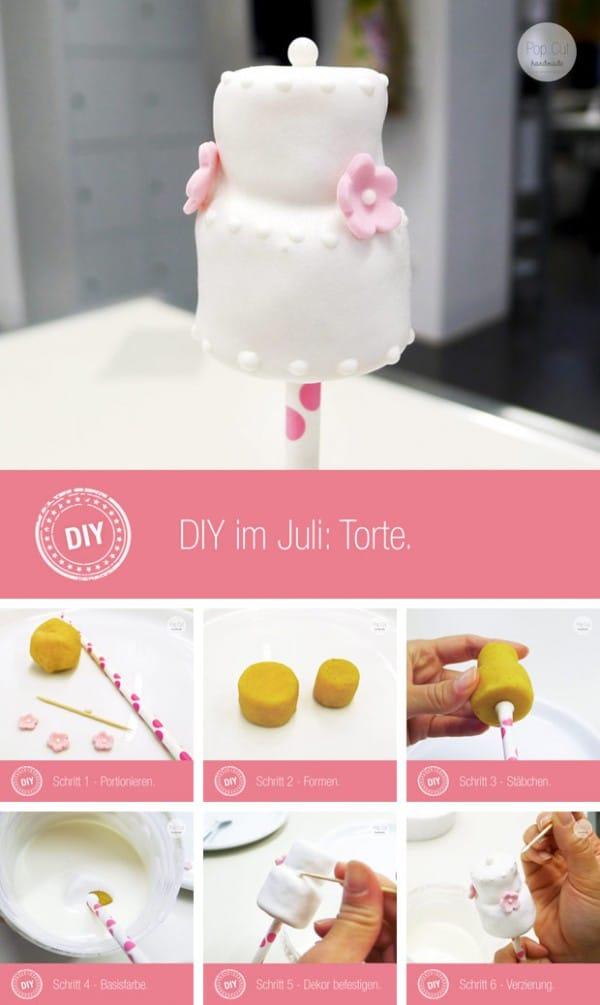 DIY Torten Cake Pop