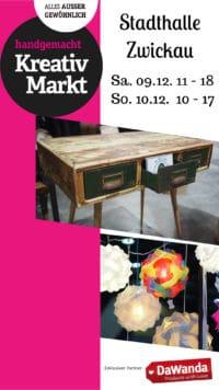 4. Handgemacht Kreativmarkt 09./10.12.2017 Zwickau