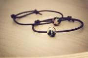 DIY Weltenbummler-Globus-Armband