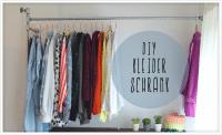 DIY-Kleiderstange aus Wasserrohren