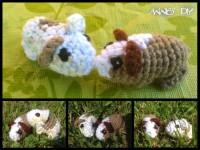 Amigurumi Baby-Meerschweinchen