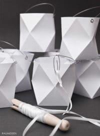 Origami-Lampion (mit Faltvorlage)