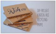 Schöne Geschenkanhänger aus Altpapier
