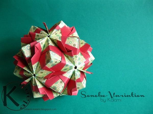 Modulares Origami
