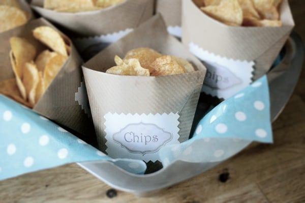 DIY Chipstütchen