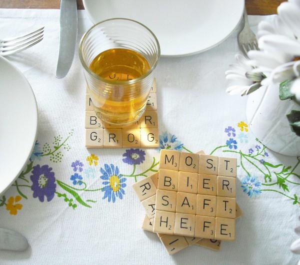 Scrabble-Untersetzer