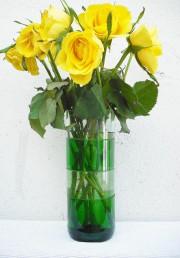 Vase in Scheiben