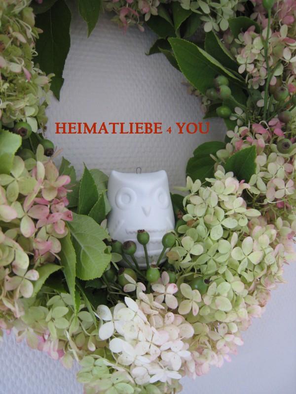 Hortensien-Herbstkranz