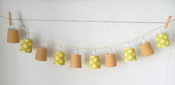 lichterketten lampenschirme handmade kultur. Black Bedroom Furniture Sets. Home Design Ideas