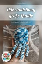 Anleitung große Qualle/Krake