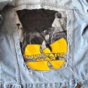 DIY Idee: Jacke aufpeppen mit einem bedruckten T-Shirt oder Bandshirt