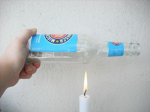 Anleitung zum Flaschen schneiden