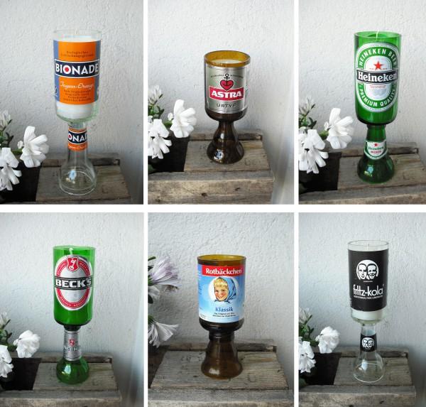 flasche sauber machen